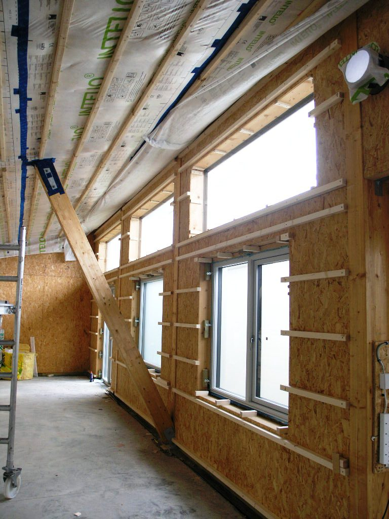 Passive House Timber Frame Build Up